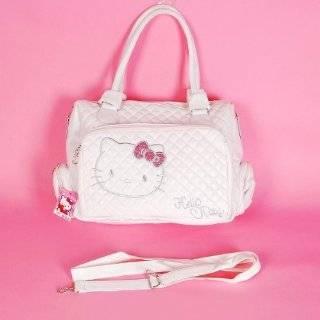 Hello Kitty Shopping Bag Handbag Tote Purse White Toys