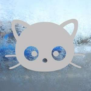 Chococat Gray Decal Sanrio Hello Kitty Window Gray Sticker