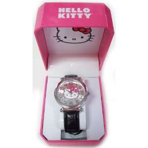 Hello Kitty Face Pink Hinge Watch Electronics