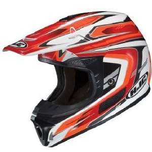 HJC SPXN TEAM MC 1 WHITE/RED/BLACK MOTORCYCLE Off Road Helmet