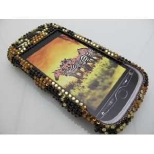 CHEETAH Hard Plastic Bling Rhinestone Case for HTC Mytouch