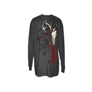 Primos Hunting Calls Primos Deer Skull Long Sleeve T Shirt