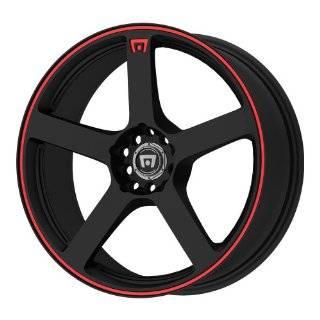 15 Inch 15x8 Konig wheels Wideopen Gloss Black w/ Machined Lip wheels