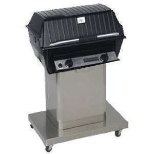 Broilmaster R3N Infrared Natural Gas Grill On Stainless Cart