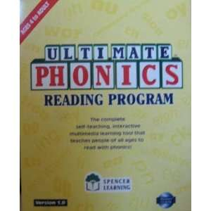 Ultimate Phonics Reading Program ~ Includes book & software ~ Ages 4