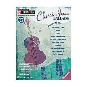 Classic Jazz Ballads Softcover with CD Jazz Play Along