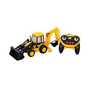 Toystate CAT Big Builder Backhoe Lands Remote Toys & Games