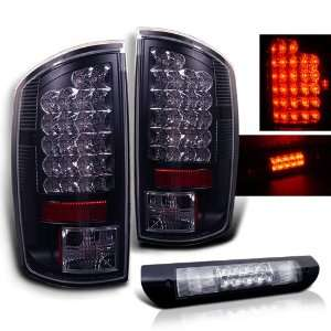 Eautolights 02 06 Dodge Ram LED Tail Lights + LED 3rd Brake Set Brand