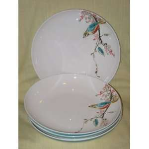 Lenox Simply Fine Chirp   4 Piece Porcelain Bowl Set   9 x