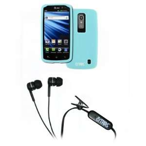 EMPIRE LG Nitro HD Light Blue Silicone Skin Case Cover