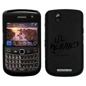 Lil Wayne Tag on PureGear Case for BlackBerry Tour & Bold