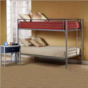 Hillsdale Universal Youth Metal Bunk Bed 5 Piece Bedroom