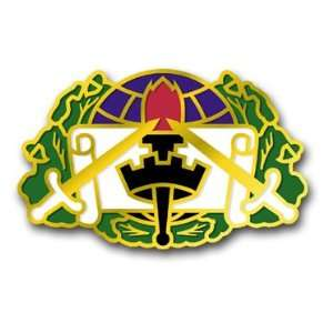 United States Army 364th Civil Affairs Brigade Unit Crest Patch Decal