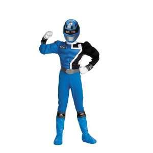 Power Ranger Blue Muscle 7 8