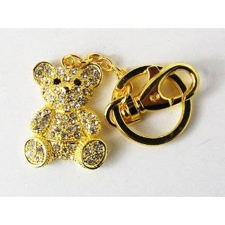 Movable Teddy Bear Key Chain, Key Ring, Key Holder, Key