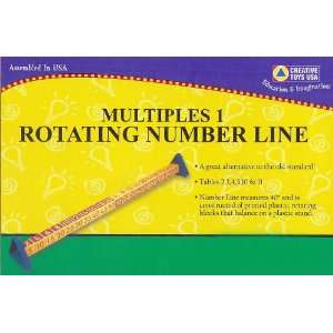 ROTATING NUMBER LINE MULTIPLES 2 Toys & Games
