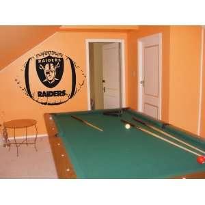 WALL STICKER MURAL VINYL NFL Oakland Raiders 003