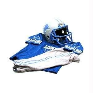 Detroit Lions Youth NFL Team Helmet and Uniform Set by Franklin Sports