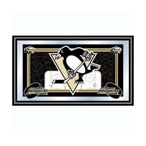 NHL Pittsburgh Penguins Framed Team Logo Mirror