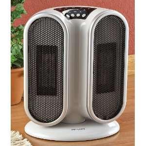 Pelonis® Twin Ceramic Oscillating Heater