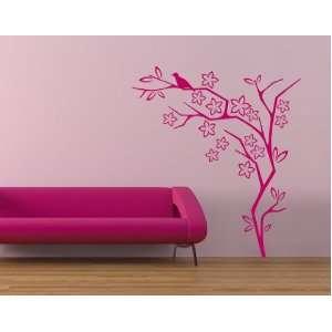 Flower Bush   Vinyl Wall Decal