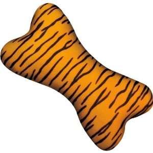 Zanies 8 Inch Plush Wild Style Bone Dog Toy, Leopard