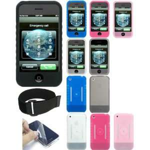 Premium Silicone Skin Protective Case with Full Screen Protector Film