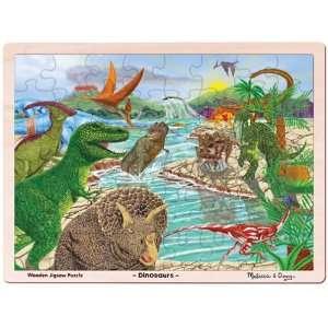 Dinosaur Jigsaw Puzzle 48pc  Toys & Games