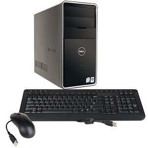 Dell Inspiron 545 Core 2 Quad Q8200 2.33GHz 8GB 750GB DVD
