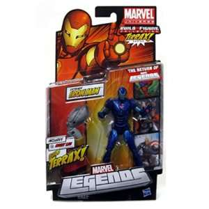 Marvel Legends 2012 Series 1 Action Figure STEALTH Variant Iron Man