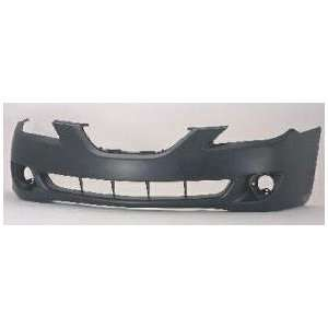 Toyota Solara Primed Black Replacement Front Bumper Cover Automotive