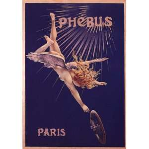 FLYING ANGEL BICYCLE BIKE CYCLES PHEBUS PARIS FRANCE FRENCH VINTAGE