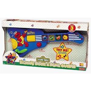 Elmos Rock & Roll Guitar Toys & Games