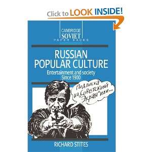 Russian Popular Culture Entertainment and Society since