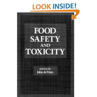 Food Safety and Toxicity (9780849394881) John DeVries