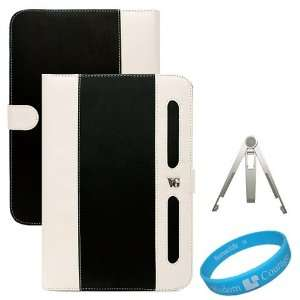 Book Style Leather Case Cover for Samsung Galaxy Tab 10.1 inch Tablet