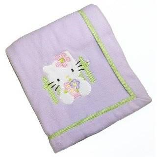 Lambs & Ivy 5 Piece Baby Crib Bedding Set, Hello Kitty and