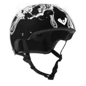 Size Bike & Skateboard Helmet (Viking Skull): Sports & Outdoors