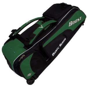 Diamond Ix3 Boost Baseball/Softball Bat Bag DARK GREEN 35
