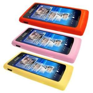 Three Silicone Cases / Skins / Covers for Sony Ericsson Xperia X10