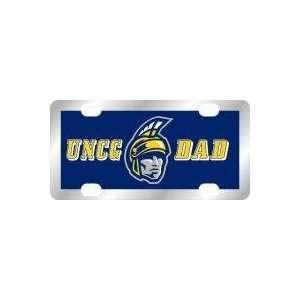 UNCG Dad Spartan Laser Color Frost License Plate  Sports