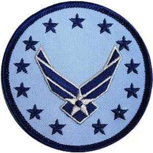 U.S. Air Force Wings Logo Patch Blue & Gray 3 Patio