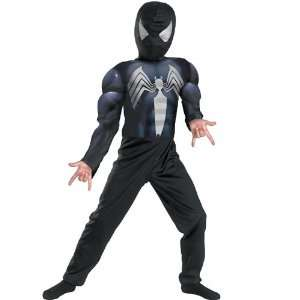 Spiderman Black Child Costume Small Clothes Size 4 6 Toys & Games