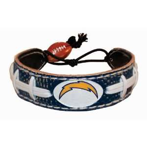 San Diego Chargers Team Color NFL Football Bracelet