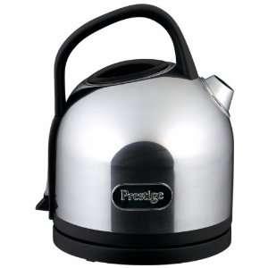 Prestige 1.5L Black & Stainless Steel Kettle