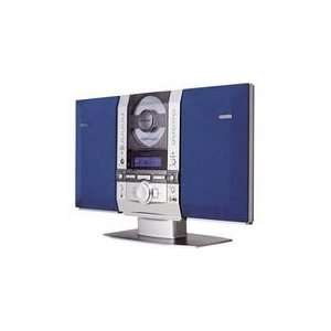 Fisher SLIM 1510 Stereo Mini System SILVER: Electronics