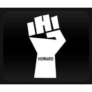 Howard Stern Fist   White Sticker Decal Automotive