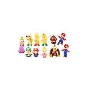 Super Mario Bros Pvc Figure Collectors Set Of 11 Toys & Games