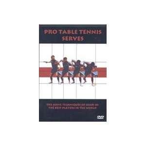 Pro Table Tennis Serves DVD