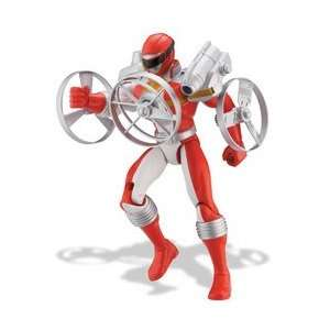 Power Rangers 5 Red Ranger with Gyro Launcher Toys & Games